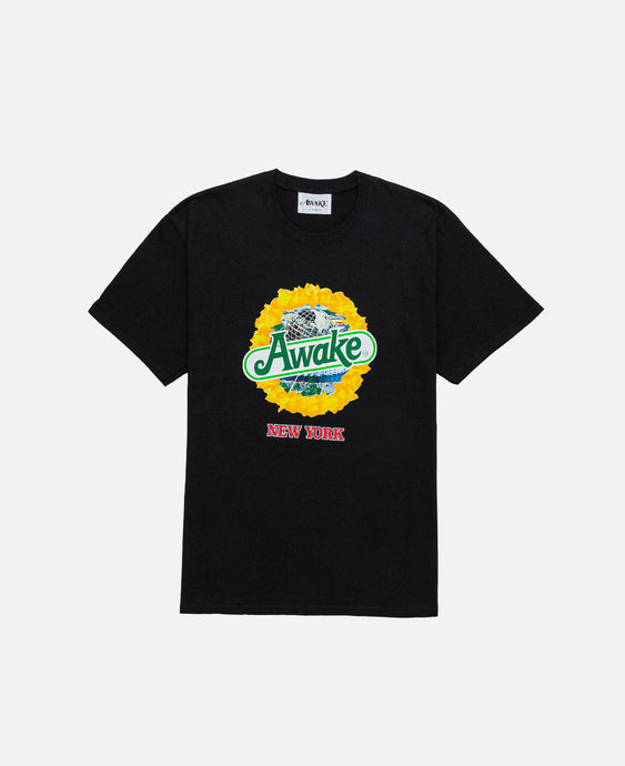 Strawberry Kiwi S/S T-Shirt (Black)