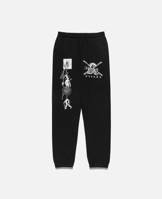 Braindead Dreams Sweatpants (Black)