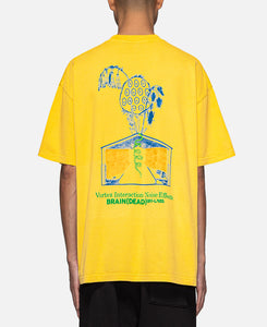 Vortex Interaction Noise Effects T-Shirt (Yellow)