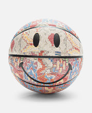 Smiley Patchwork Rug Basketball (Multi)