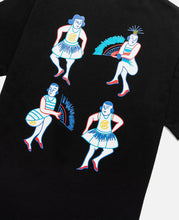 Dancing Hawaiian T-Shirt (Black)