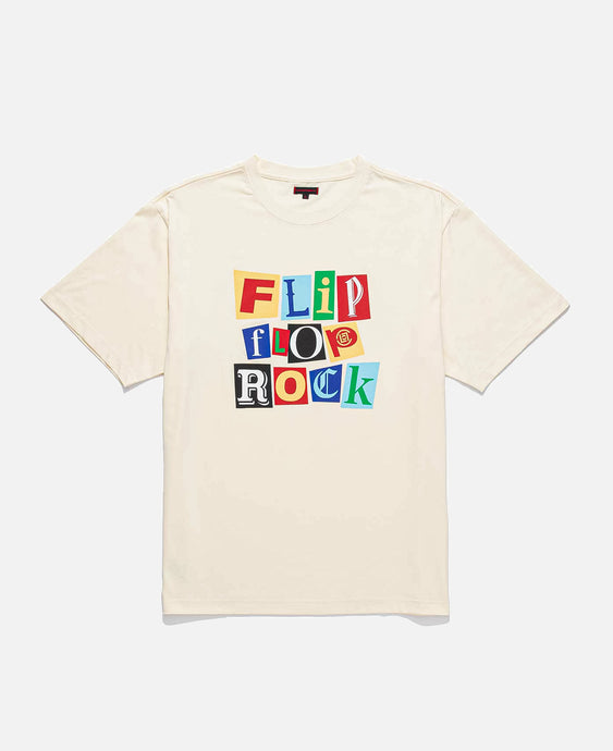 Flip Flop Rock T-Shirt (Off White)