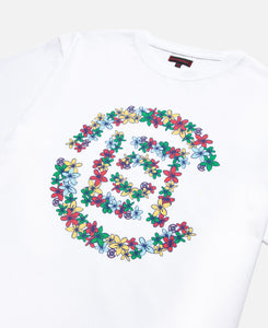 Flowers Logo T-Shirt (White)