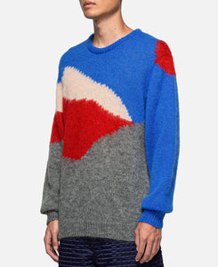 Knit Sweater (Blue)
