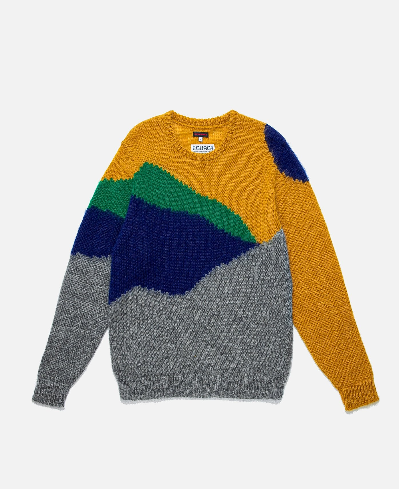 Knit Sweater (Yellow)