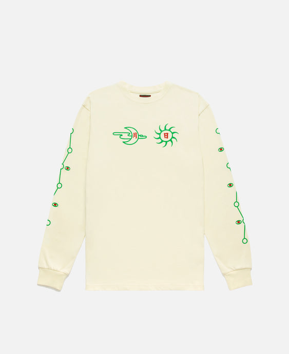Moon & Sun L/S T-Shirt (Off White)