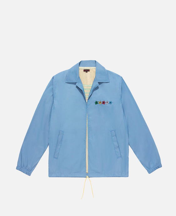 Open Coach Jacket (Blue)