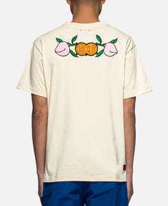 Panda Pocket T-Shirt (Off White)