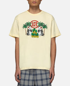 Pineapple Panda T-Shirt (Off White)