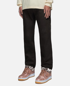 Chino Roll Up Pants (Black)
