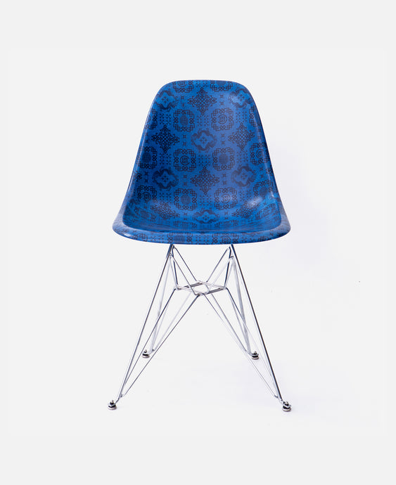 CLOT Case Study Furniture® Side Shell Eiffel Chair - Silk Pattern