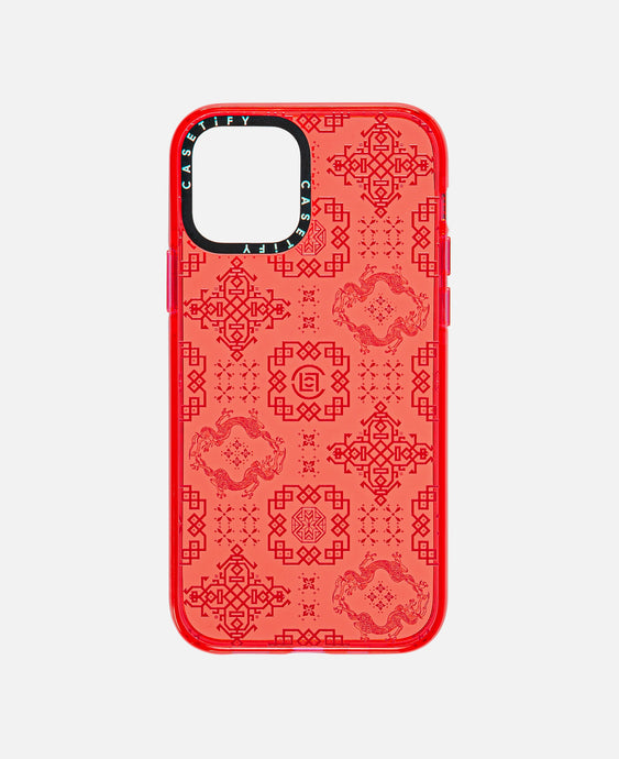 iPhone 12 Pro Impact Case (Red)