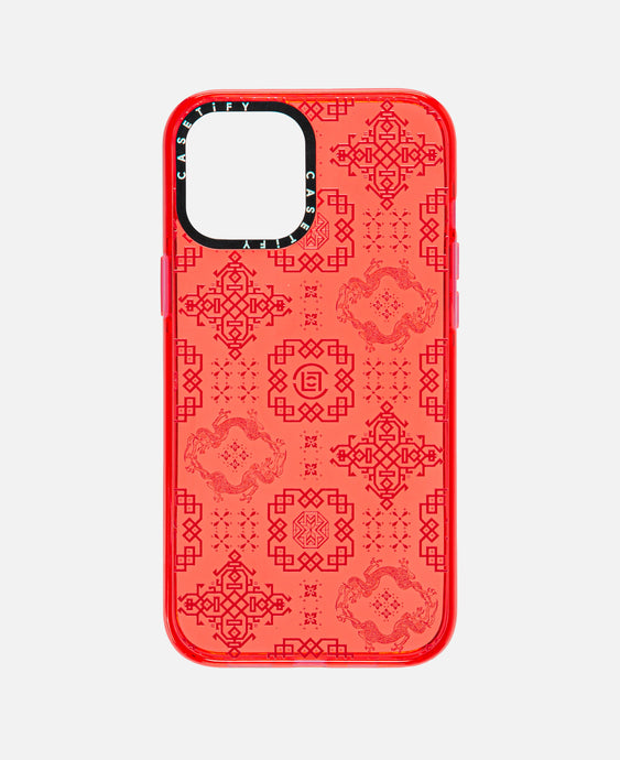 iPhone 12 Pro Max Impact Case (Red)