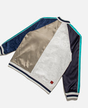 CLOT Silk Patchwork Souvenir Jacket (Off White)