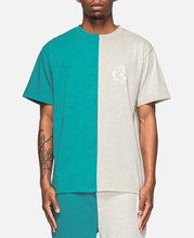 CLOT Silk Print T-Shirt (Green)