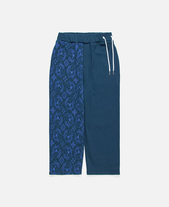 CLOT Silk Print Sweatpants (Navy)