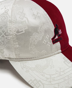 Cord Baseball Cap (Red)
