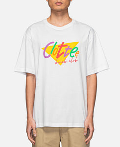 CLOTTEE Beach Club T-Shirt (White)