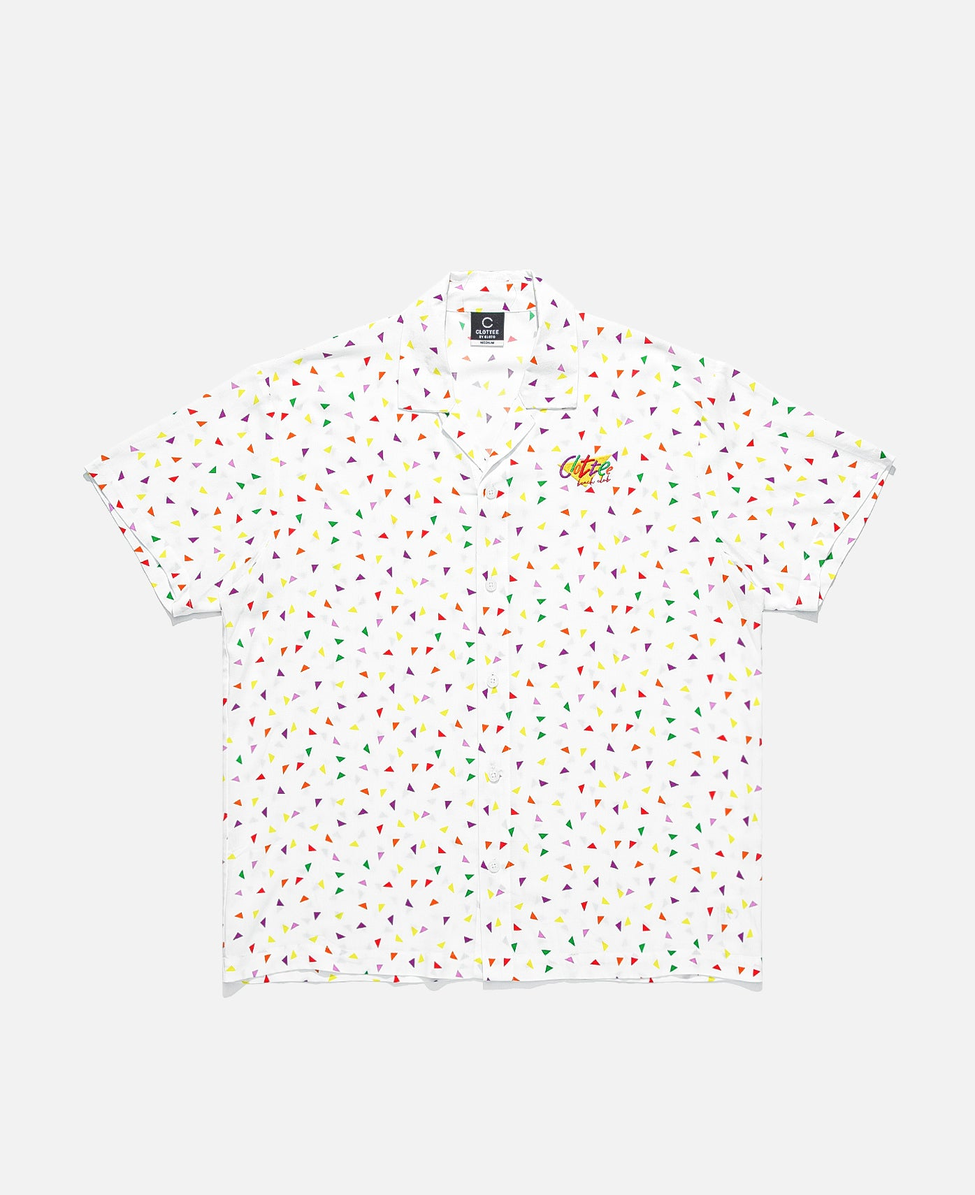 CLOTTEE Beach Club Shirt (White)