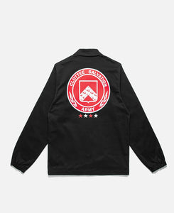 Badge Coach Jacket (Black)