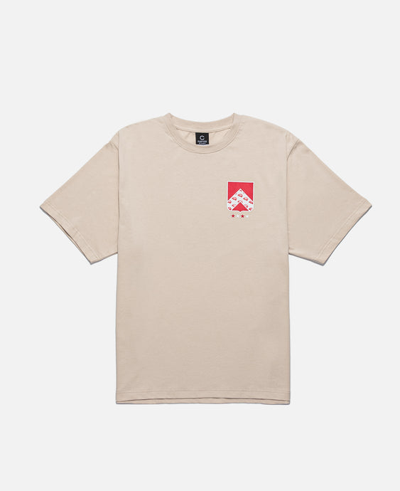 Badge S/S T-Shirt (Beige)