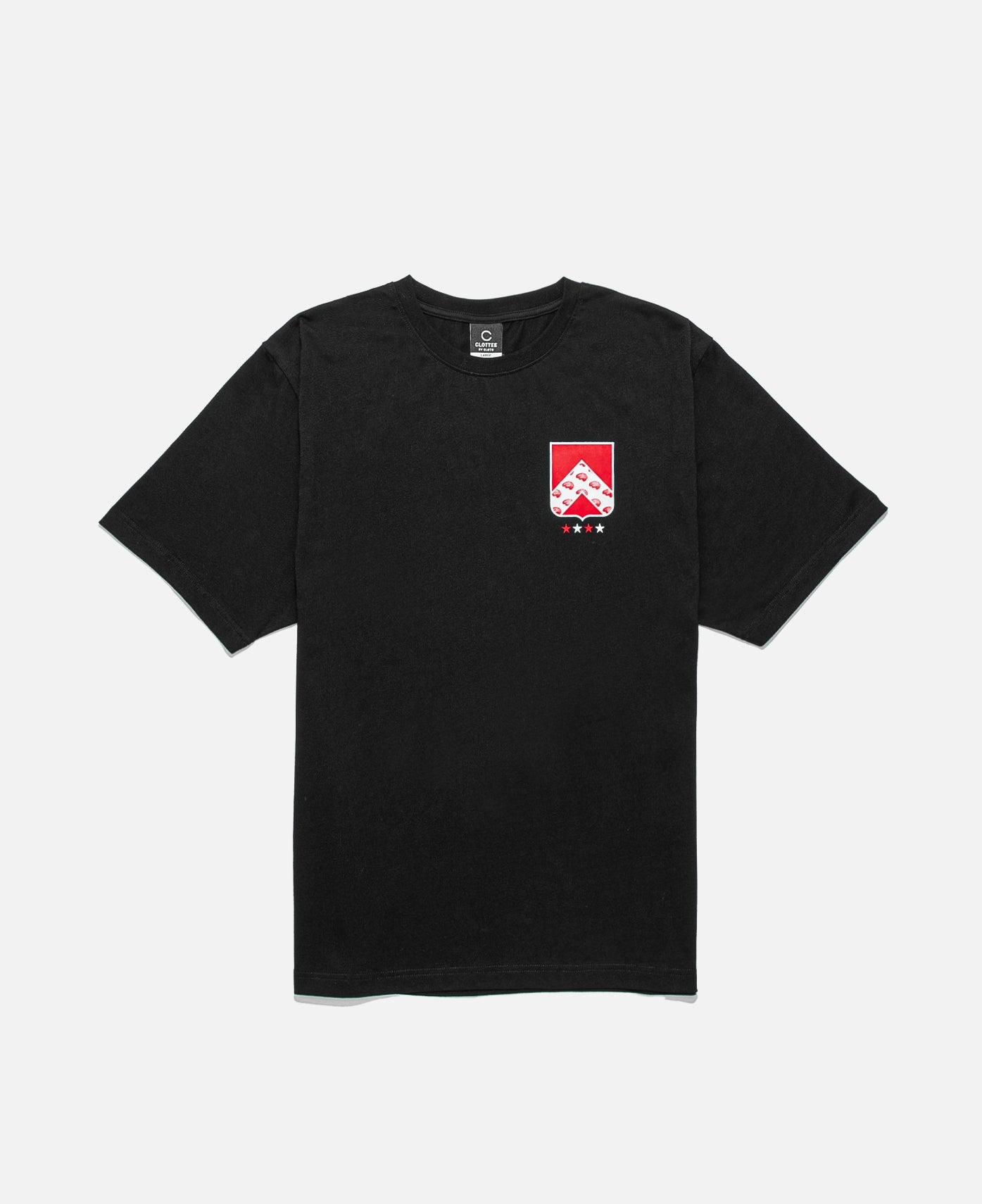 Badge S/S T-Shirt (Black)