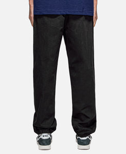 Badge Track Pants (Black)