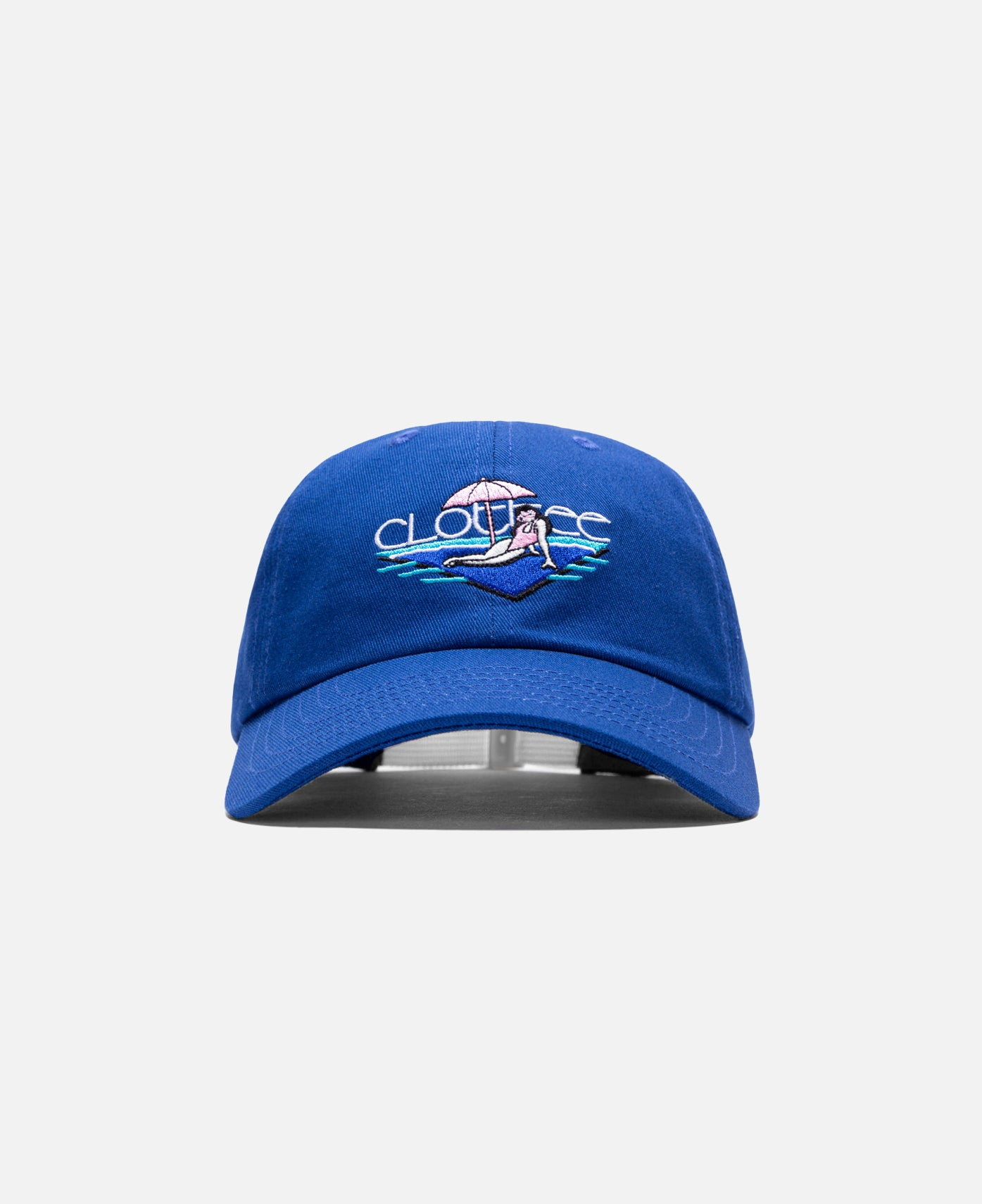 Beach Bum Dad Cap (Blue)