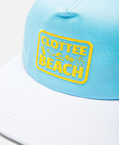 CLOTTEE Beach Trucker Hat (Blue)