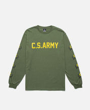 C.S. Army L/S T-Shirt (Green)