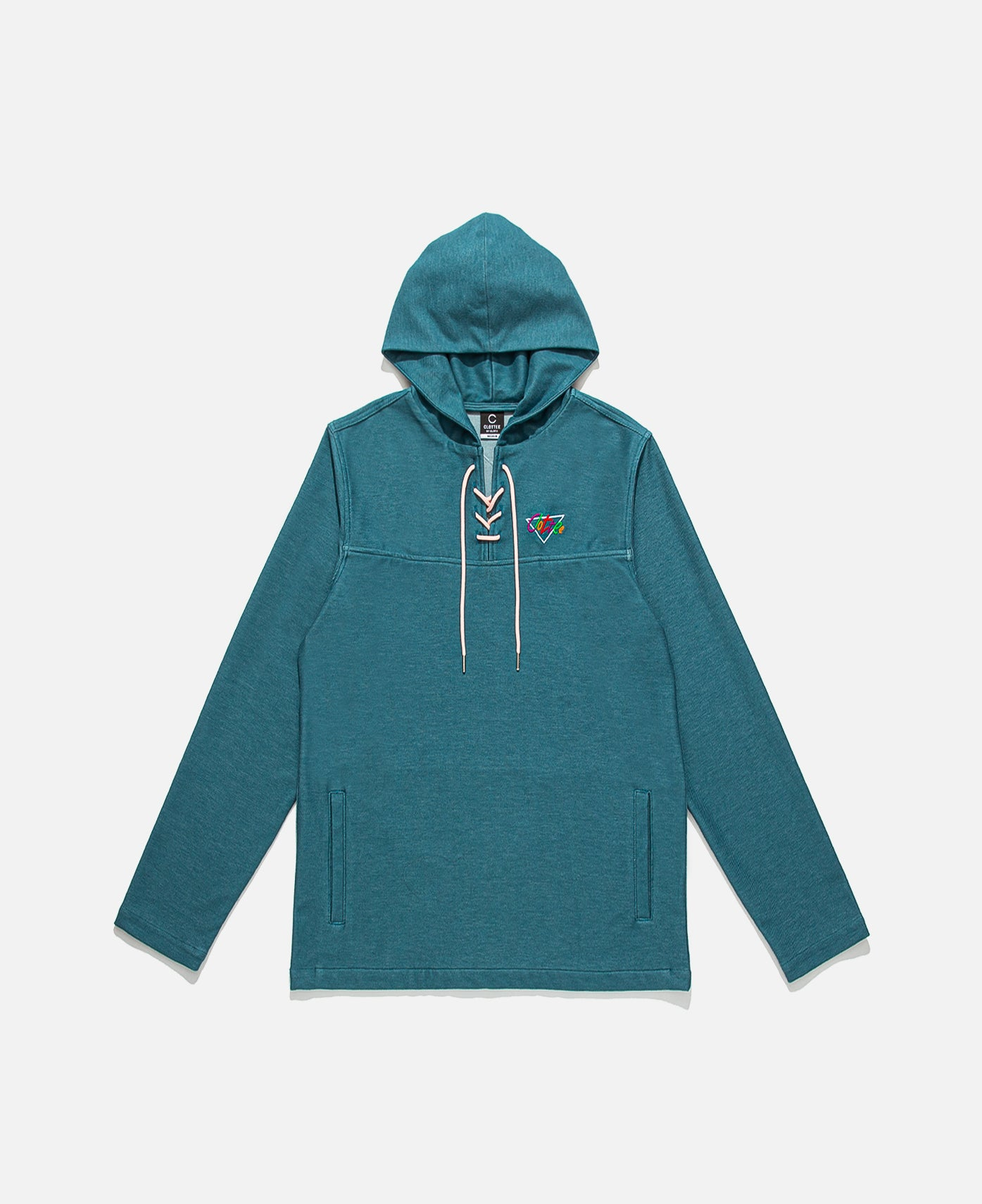 Lace Up Knit Anorak (Green)