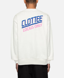 Locals Only Sweat (White)