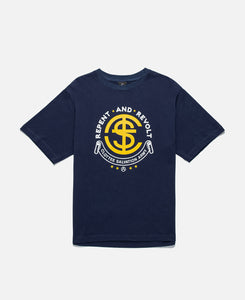 Repent And Revolt S/S T-Shirt (Navy)