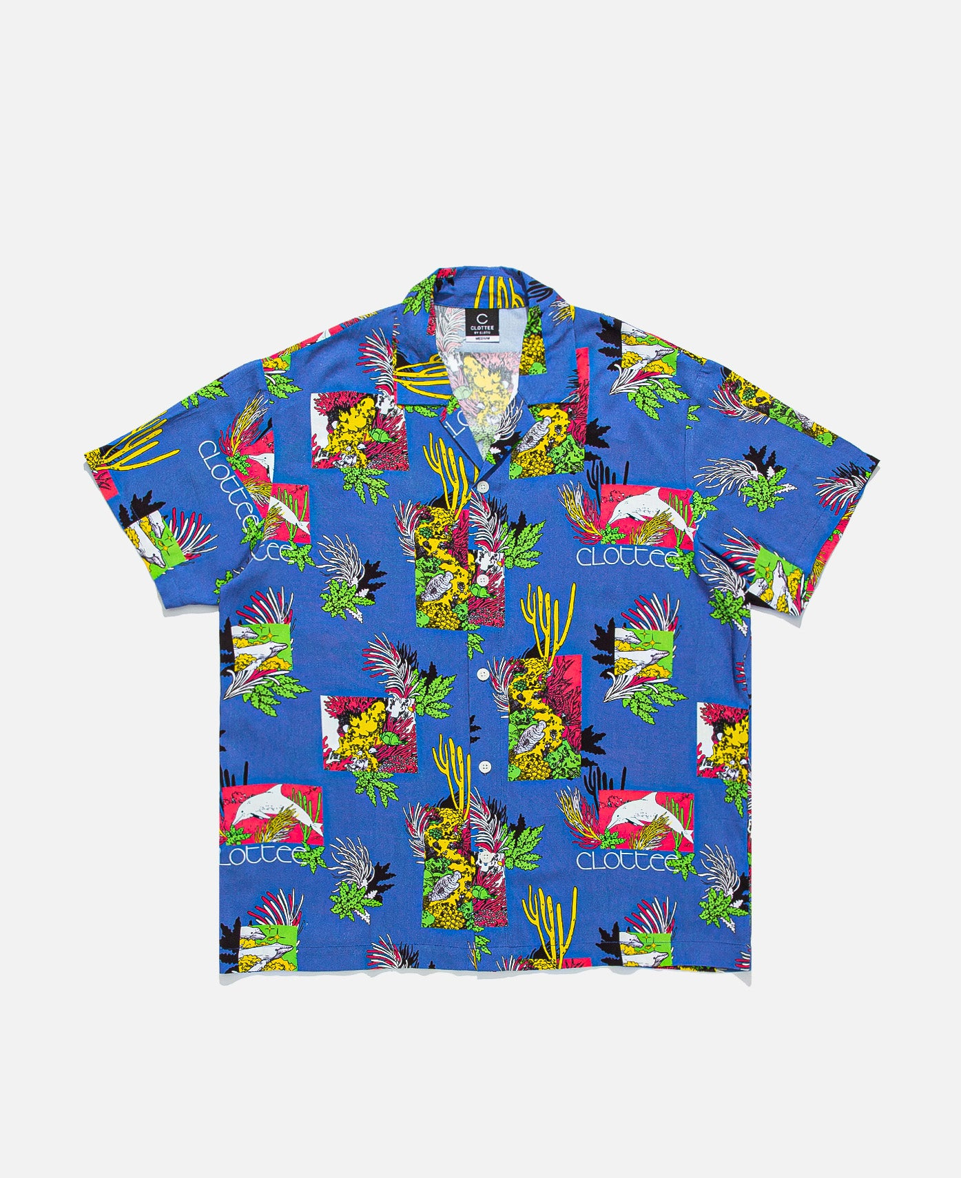 Reef Print S/S Shirt (Blue)