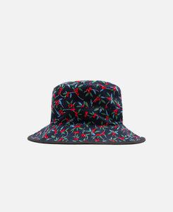 Reversible Bucket Hat (Black)