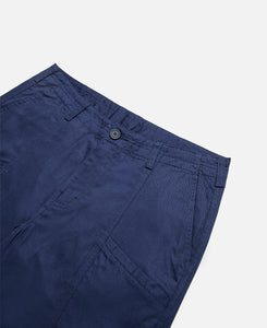 Seamed Chino Shorts (Navy)