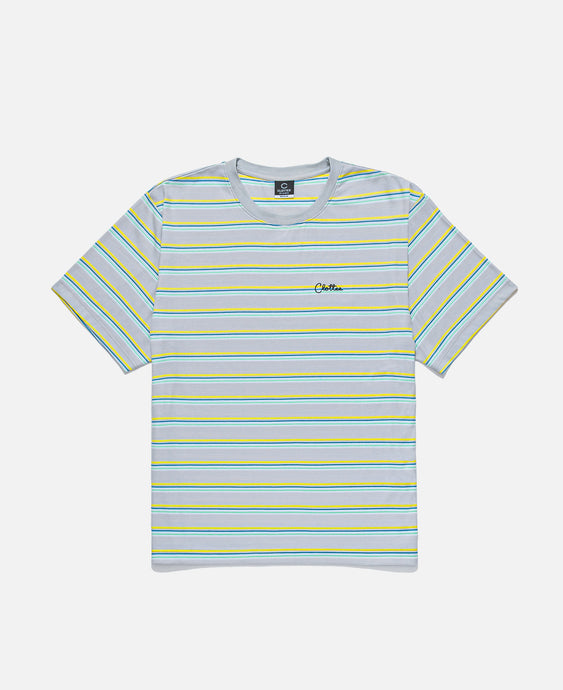 Striped S/S T-Shirt (Green)