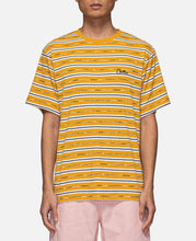 Striped S/S T-Shirt (Yellow)