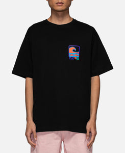 Wave S/S T-Shirt (Black)