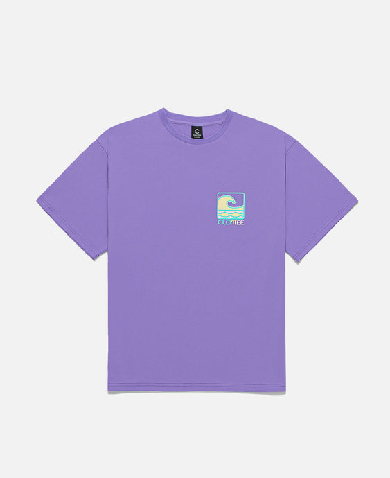 Wave S/S T-Shirt (Purple)