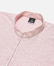Zip Pocket L/S Shirt (Pink)