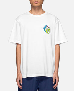 Dolphin S/S T-Shirt (White)