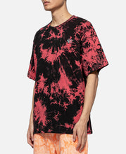 Tie Dye S/S T-Shirt (Red)