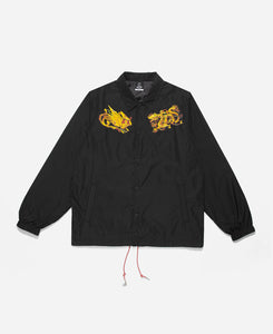 Dragon Phoenix Coach Jacket (Black)