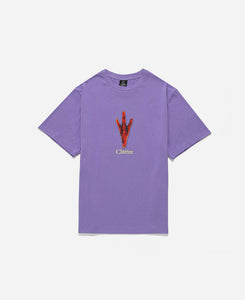Chicken Foot S/S T-Shirt (Purple)