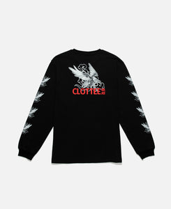 Eagle L/S T-Shirt (Black)