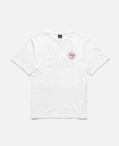 Chest Print T-Shirts (White)