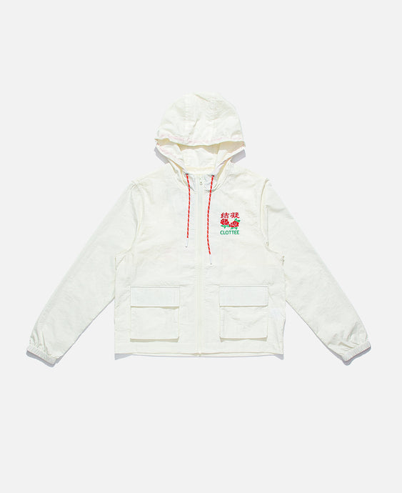Cargo Pocket Jacket (White)