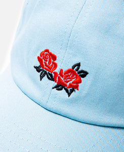 Roses Dad Cap (Blue)