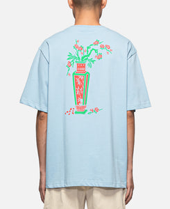 Vase Back T-Shirt (Blue)